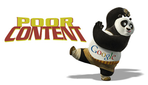 Google Panda fights poor content