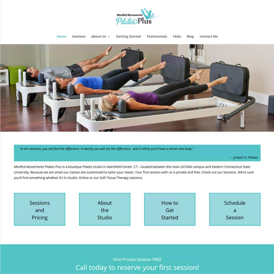 Mindful Movements Pilates Plus
