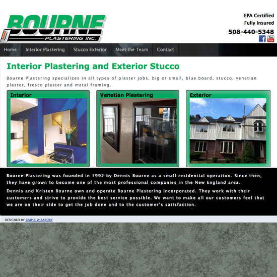 Bourne Plastering Inc